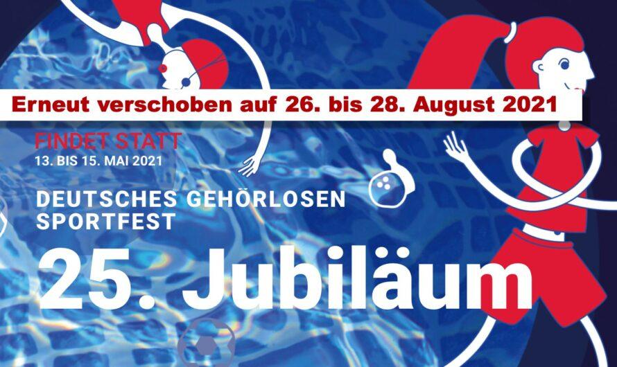 25. Deutsche Gehörlosen Sportfest 2021 in Dresden