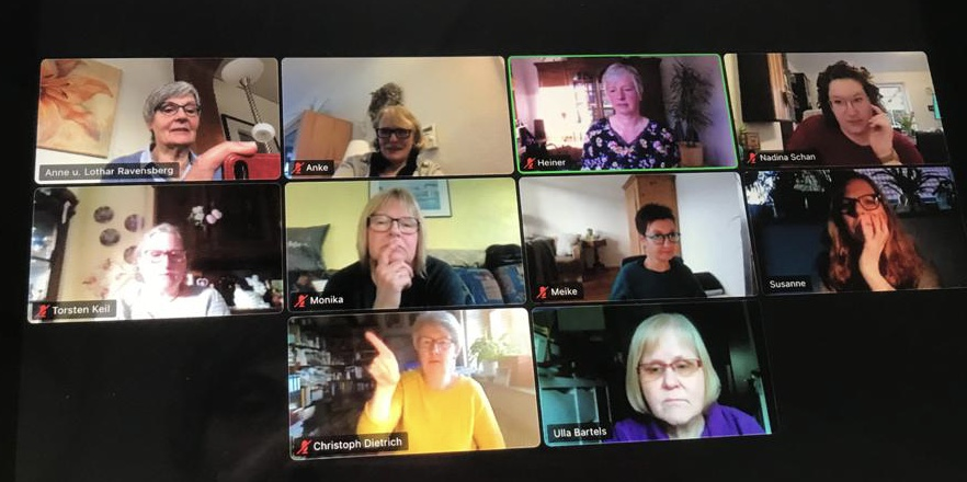 """Frauentreff: 1. Online-Treffen """"Austauschrunde"""""""