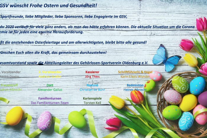 GSV: Ostergrüße