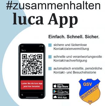 GSV: Wir nutzen auch luca-App