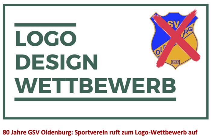 80 Jahre GSV Oldenburg: Sportverein ruft zum Logo-Wettbewerb auf